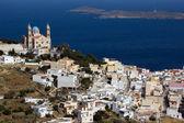 Kerk in Heers, syros eiland — Stockfoto