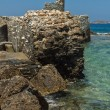 Stock Photo: Venetifortress in Naoustown, Paros island