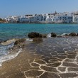 Stock Photo: Naoustown, Paros island