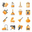 Cleaning and hygiene icons — Stock Vector #35683497