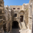 The Venetian castle in Naxos island — Stock fotografie