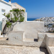 Landscape of Naxos island — Stock Photo