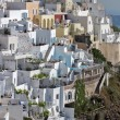 Town of Fira, Santorini — Stock Photo