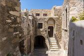 The Venetian castle in Naxos island — Stock Photo