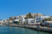 Embankment in Naxos island — 图库照片