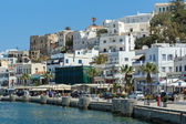 Embankment in Naxos island — Stock Photo