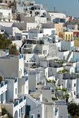 Town of Fira, Santorini — Stockfoto