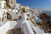 Town of Fira, Santorini — Stockfoto