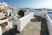 Town of Fira, Santorini — Stock Photo