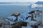 Town of Oia, Santorini — Stockfoto