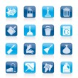 Cleaning and hygiene icons — Stock Vector #38263571