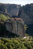 Meteora, monasterio Santo de rousanou Santa Bárbara — Foto de Stock