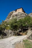 Meteora, Holy Monastery of St. Nicholas Anapausas — Stock Photo