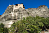 Meteora, Holy Monastery of St. Nicholas Anapausas — Stock Photo