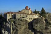Meteora, santo mosteiro de santo estêvão — Fotografia Stock