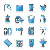 Bathroom and Personal Care icons — Stock vektor
