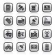 Wireless and communications icons — Stock Vector #45064033