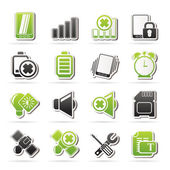 Mobile Phone sign icons — Stock Vector