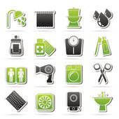 Bathroom and Personal Care icons — Stock Vector