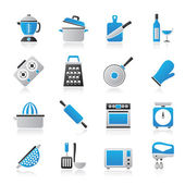 Cooking tools icons — Stock Vector