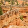 Stock Photo: Red Canyon Stronghold