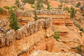 Red Canyon Stronghold — Stock Photo