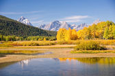 Grand Tetons in Autumn — Stock Photo