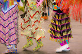 Dancing Moccasins — Stock Photo