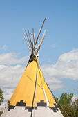Montana Indian Teepee — Stock Photo