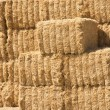 Stacked Hay Bales — Stock Photo