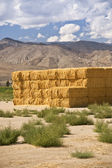 Hay Bales in the Sierras — Stock Photo