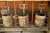 Old School Wine Press — Stock Photo