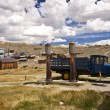 Classic Scene in Bodie Ghost Town — Stock Photo