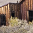Ramshackle Old West House - Stock Photo