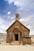 Pioneer Church at Bodie Ghost Twon — Stock Photo