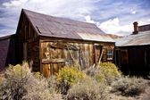 Rustic Remains in a Ghost Town — Stock Photo