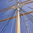 Masts in the Sky — Stock Photo