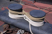 Nautical Ship's Rigging — Stock Photo