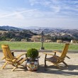 California Wine Country Vista — Stock Photo