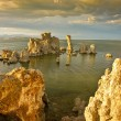 Vivid Sunset on Mono Lake Tufa Formations — Stock Photo #13517015