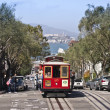 Stock Photo: SFrancisco Cable Car