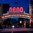 Постер, плакат: Downtown Reno Sign