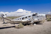 Abandoned Vintage Airplane — Stock Photo