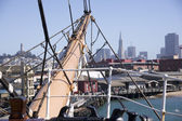 サンフランシスコ行き — ストック写真