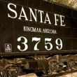Royalty-Free Stock Photo: Santa Fe Railroad Relic