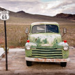 Route 66 Truck portrait — Foto Stock