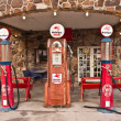 Vintage Route 66 Gas Station — Stock Photo