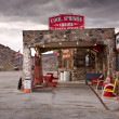 Storm Clouds over Route 66 — Stock Photo