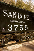 Santa Fe Railroad Relic — Stock Photo