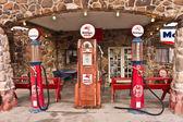Distributore di benzina d'epoca route 66 — Foto Stock